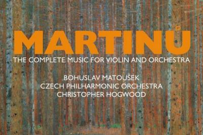 Březnový Tip Harmonie: Konečně kompletní Martinů pro housle a orchestr