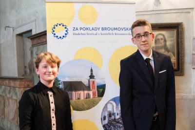 Mladí laureáti Broumovské klávesy na cestě za klavírní virtuozitou