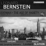 Leonard Bernstein: Jeremiah (Symphony No. 1), The Age of Anxiety (Symphony No. 2), Divertimento
