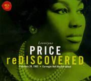 Leontyne Price: reDISCOVERED - Händel, Brahms, Giordano, Poulenc, Barber, Hoiby, Puccini