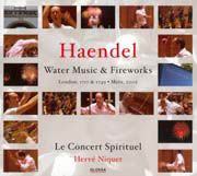Georg Frideric Haendel: Water Music   Firewoks
