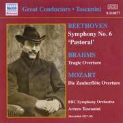 Arturo Toscanini: Great Conductors - Beethoven, Brahms, Mozart