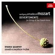 Wolfgang Amadeus Mozart - Divertimenti for Strings   Two French Horns