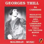 Georges Thill - Sa Carriere