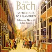 Carl Philipp Emanuel Bach - Symphonies for Hamburg