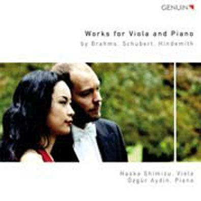 Brahms, Schubert, Hindemith - Works for Viola and Piano
