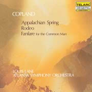 A. Copland: Appalachian Spring, Rodeo, Fanfare for the Common Man