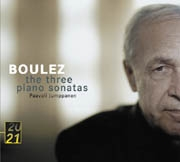 Pierre Boulez: The Three Piano Sonatas