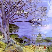 Jindřich Feld - String quartet No.4, Clarinet quintet, Two pieces for cello and piano, Concerto for viola and orchestra