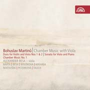 Bohuslav Martinů - Chamber Music with Viola