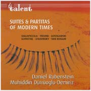 Suites and Partitas of Modern Times