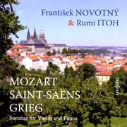 František Novotný, Rumi Itoh - Sonatas for Violin and Piano