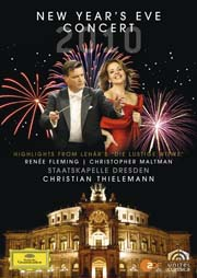 Renée Fleming, Christopher Maltman, Christian Thielemann, Staatskapelle Dresden - New Year's Eve Concert (Franz Lehár: Die lustige Witwe – Highlights)