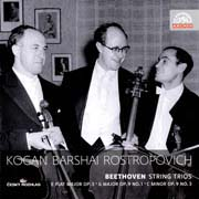 Kogan – Barshai – Rostropovich - Beethoven String Trios - Trio in G major, Op. 9 No. 1; Trio in C minor, Op. 9 No. 3; Trio in E flat major, Op. 3