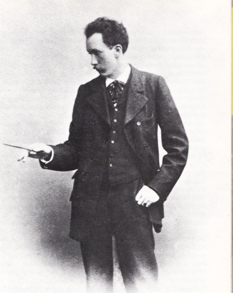 Mladý dirigent Richard Strauss