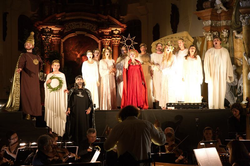 Roman Válek a Czech Ensemble Baroque
