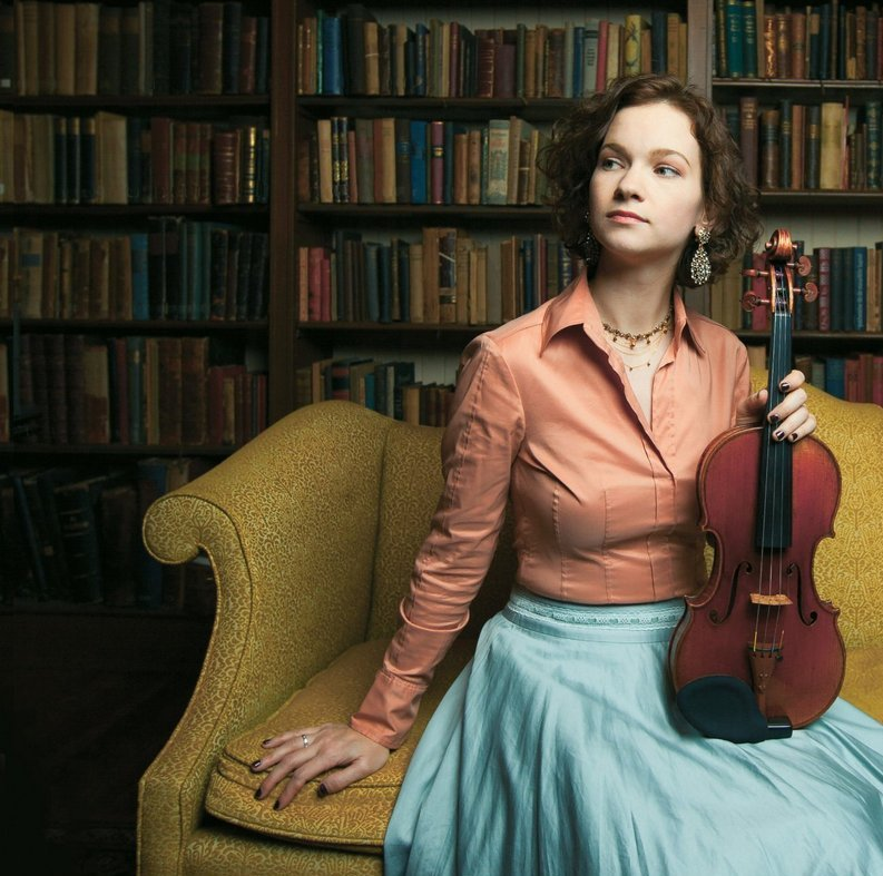 Hilary Hahn, foto Michael Patrick O´Leary