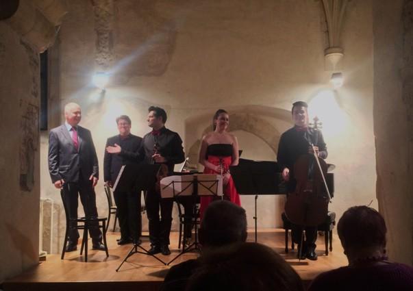 Klavírní kvarteto Josefa Suka a Michal Müller, foto Tomáš Bělohradský