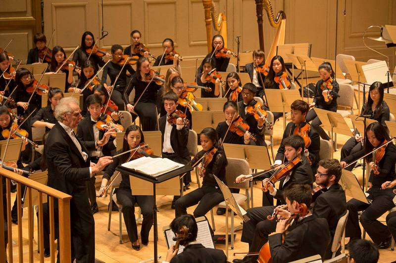 , foto FB Boston Philharmonic Youth Orchestra
