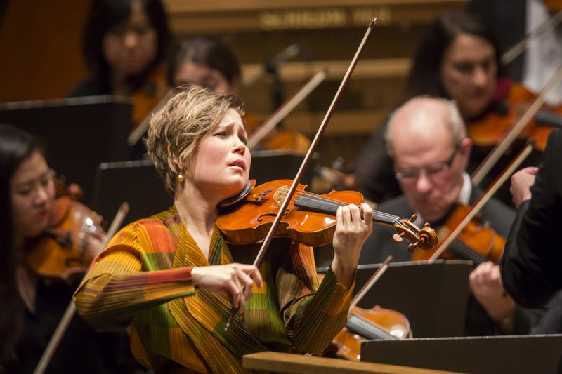 Leila Josefowicz, foto Chris Lee