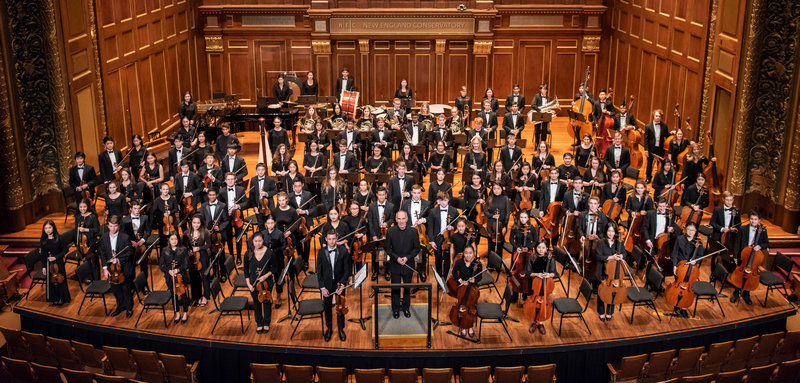 New England Conservatory Youth Philharmonic Orchestra, foto Andrew Hurlbut