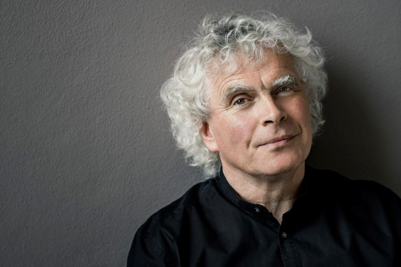 Simon Rattle, foto Oliver Helbig