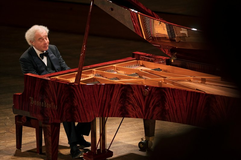 András Schiff, foto Lukas Beck